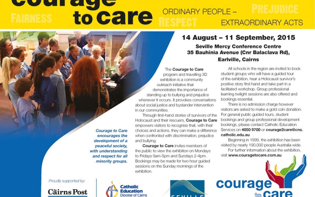 Courage to Care in Cairns